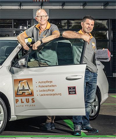 A Plus Autopflege und professionelle Autoreinigung